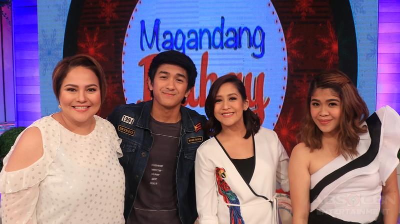 PHOTOS: Magandang Buhay with Joross Gamboa & Makisig Morales