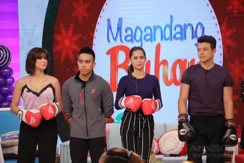 PHOTOS: Magandang Buhay with Jericho, Erich and Jasmine