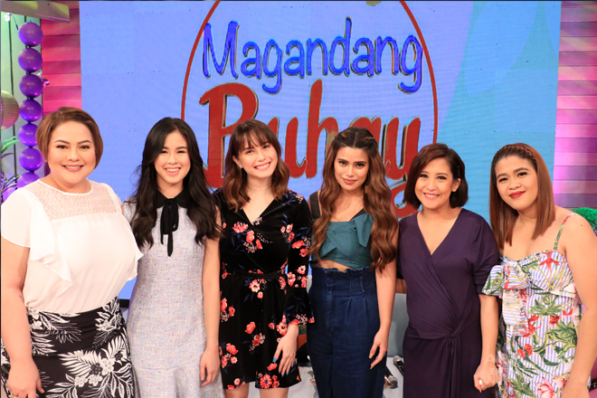 PHOTOS: Magandang Buhay with Kisses, Denise and Jessy