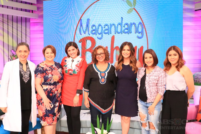 PHOTOS: Magandang Buhay with Shamaine, Sherilyn and Dimples