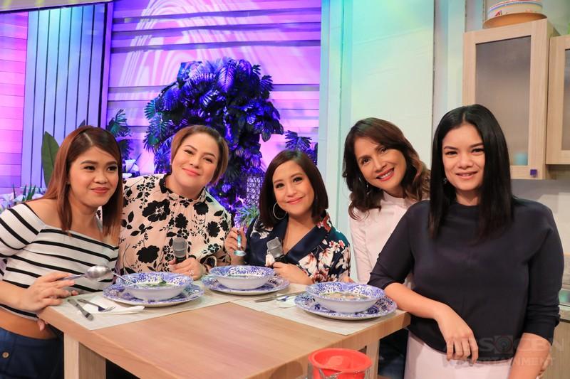 PHOTOS: Magandang Buhay with Meryll Soriano and Agot Isidro