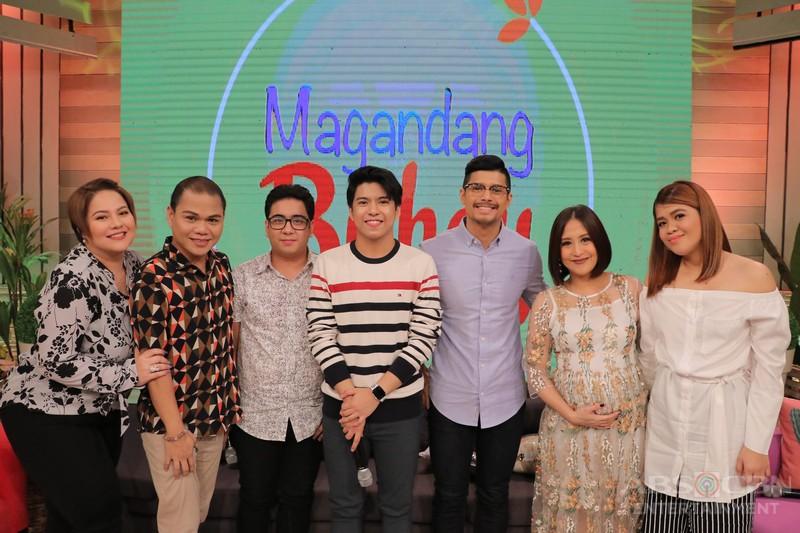 PHOTOS: Magandang Buhay with JC & Pooh and Nash & Igi Boy