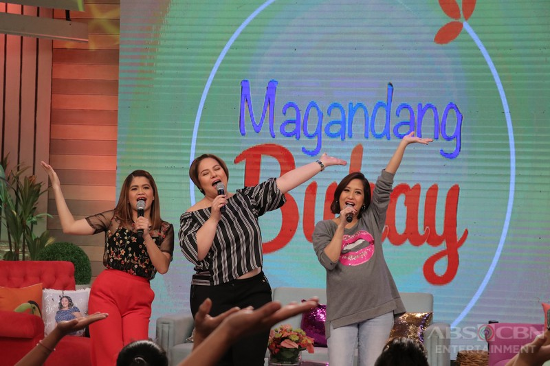 PHOTOS: Magandang Buhay with Kim, Gerald and Coleen