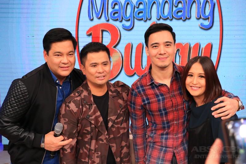 PHOTOS: Magandang Buhay with Ogie, Martin and Erik