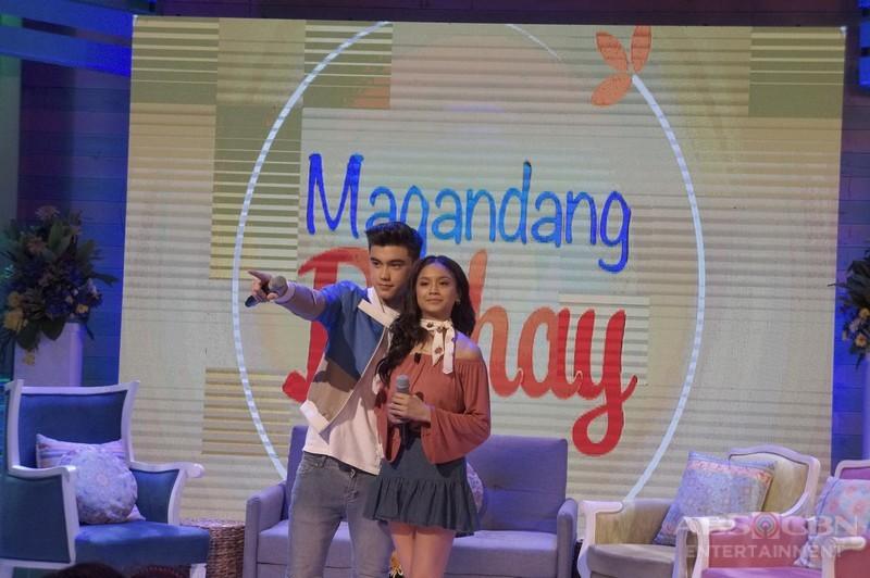 Kapamilya love teams share kilig revelations about each other on Magandang Buhay
