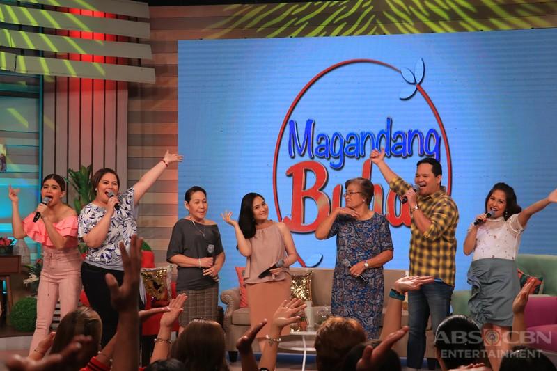 PHOTOS: Magandang Buhay with Gladys Reyes and Bayani Agbayani
