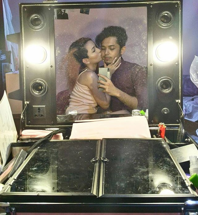 32 cheesy photos of AJ Muhlach with his girlfriend for 7 years!