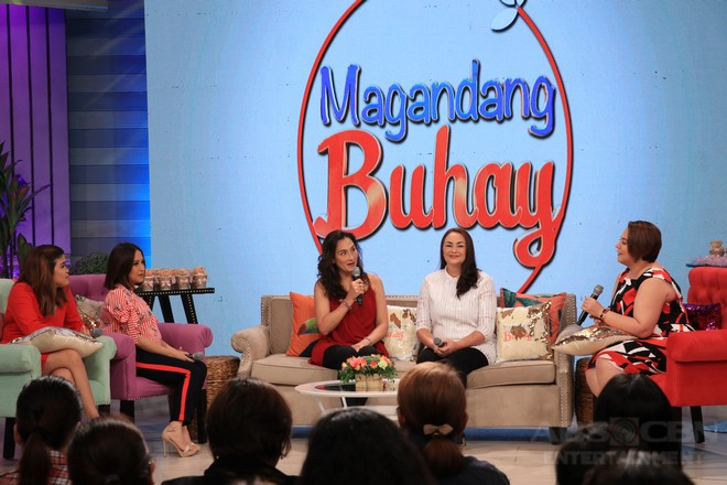 PHOTOS: Magandang Buhay with Teresa Loyzaga and Donita Rose