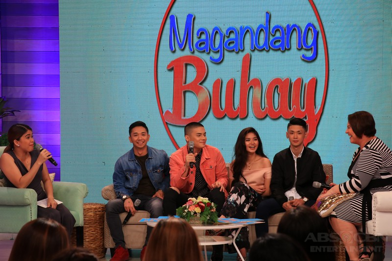 PHOTOS: Magandang Buhay with Loisa Andalio and Ronnie Alonte