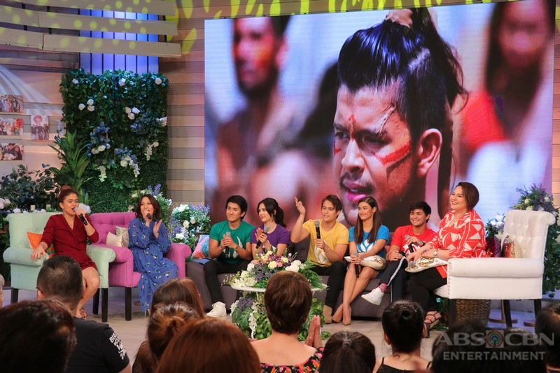 PHOTOS: Magandang Buhay with the Bagani Stars