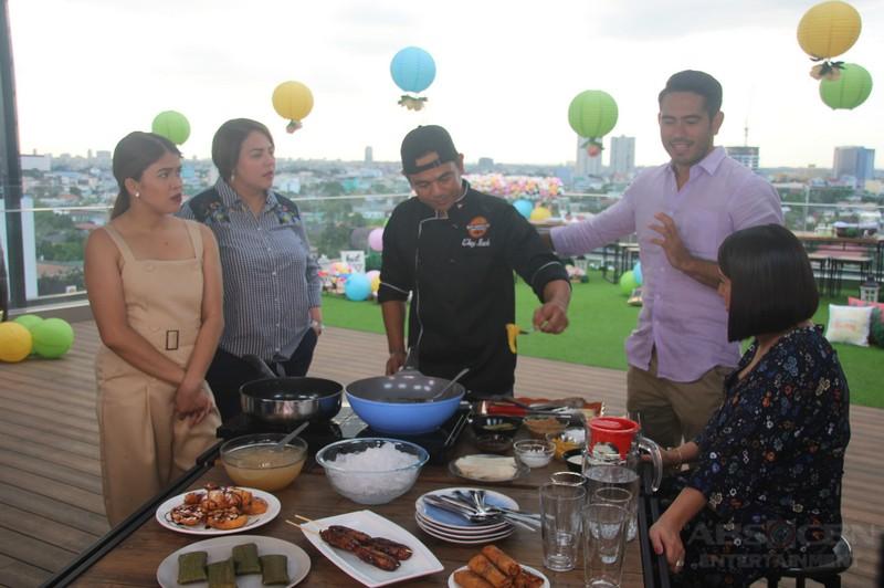 PHOTOS: Magandang Buhay with Gerald Anderson and Pia Wurtzbach