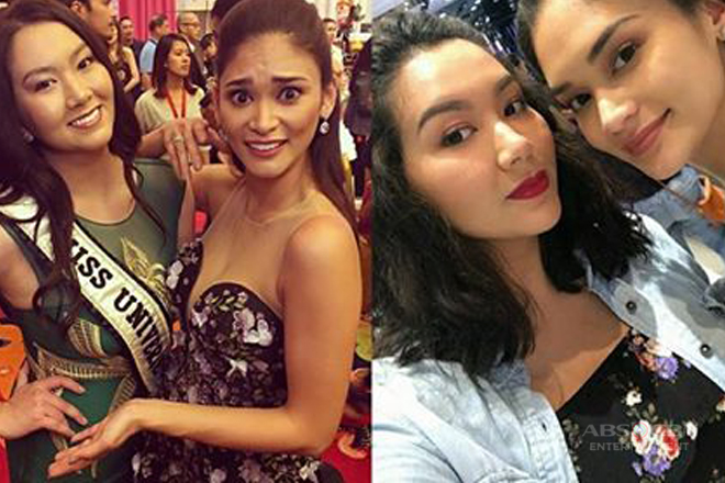 9 Photos of Pia Wurtzbach with her ever supportive sister!