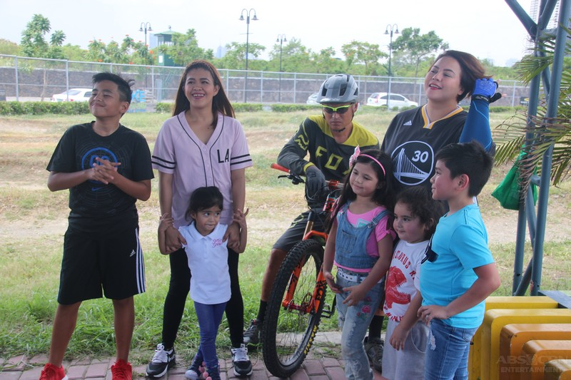 PHOTOS: Magandang Buhay Momshies' biking adventure with Sam, Xia and Raikko