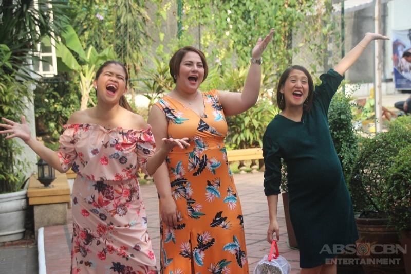 PHOTOS: Julia Montes celebrates birthday with Magandang Buhay momshies
