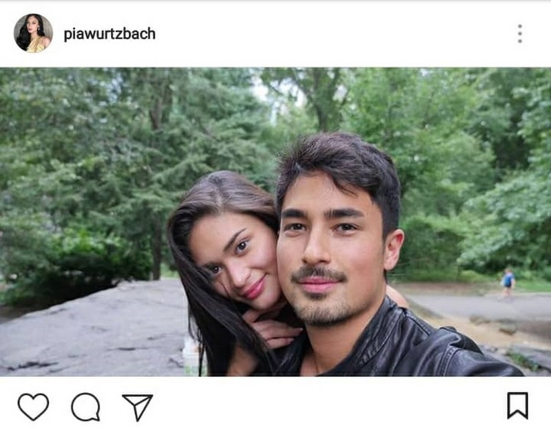 26 photos of Pia & Marlon that show they are perfectly happy with each other