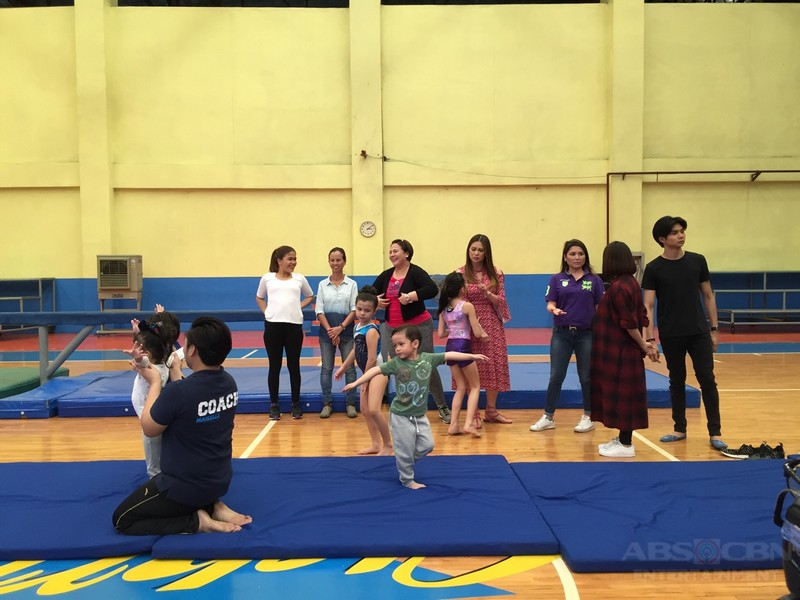 PHOTOS: #GymNAKstics on Magandang Buhay