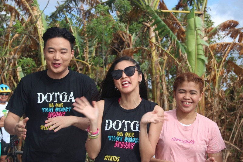 PHOTOS: Magandang Buhay with the cast of DOTGA: Da One That Ghost Away