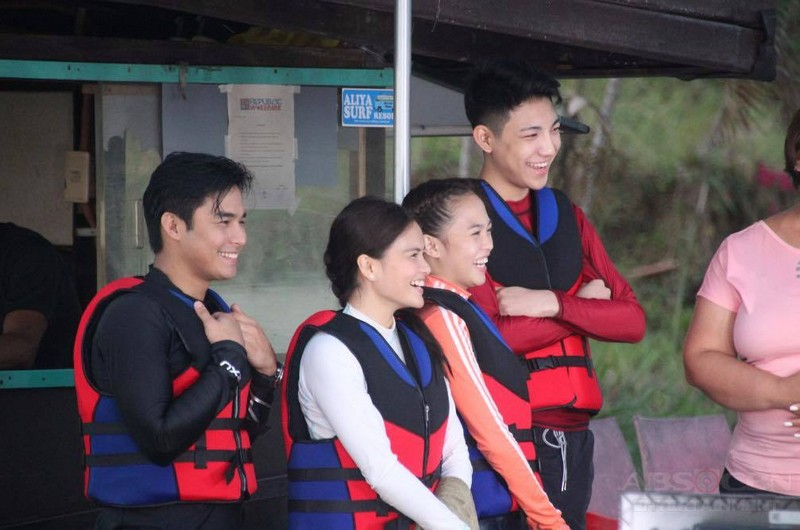 PHOTOS: MB Momshies go wakeboarding with McLisse, Darren and AC