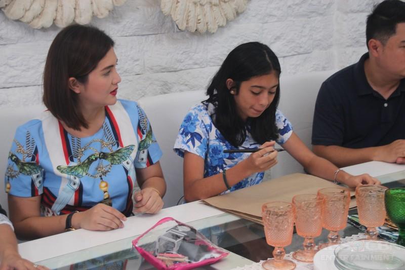 PHOTOS: Masarap na kwenTUEhan at lutuan sa exclusive home tour ni Dimples Romana