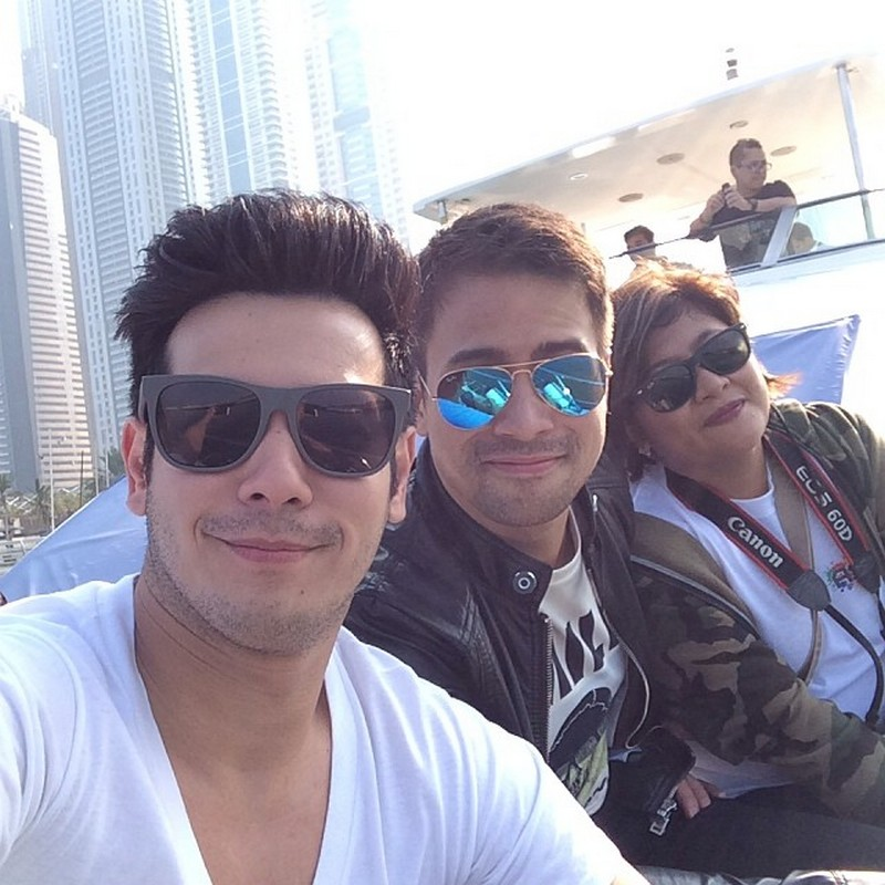 LOOK: 22 photos of John Prats with his brother from another mother!