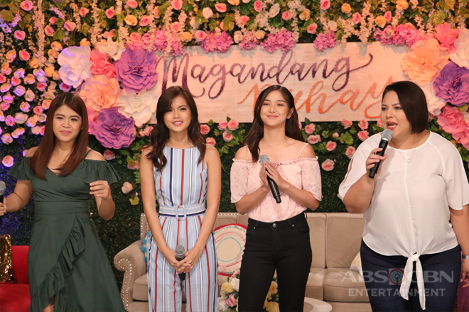 PHOTOS: Magandang Buhay with Maris Racal & Charlie Dizon