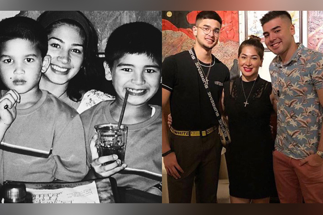 These photos of Jackie Forster with her sons Kobe & Andre are the living proof that God can move mountains