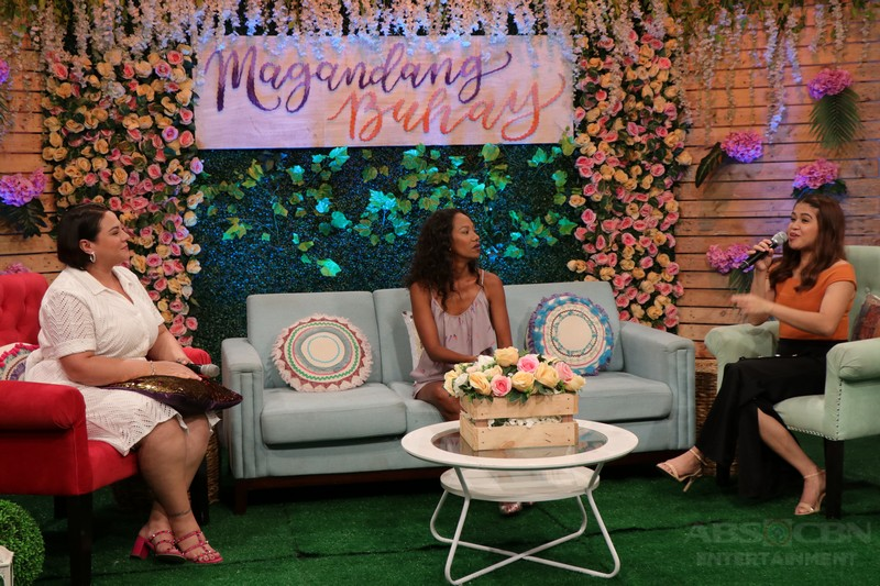 PHOTOS: Magandang Buhay with Jackie Forster and Wilma Doesnt