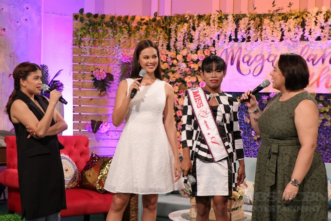 PHOTOS: Magandang Buhay with Catriona Gray & Elsa Droga