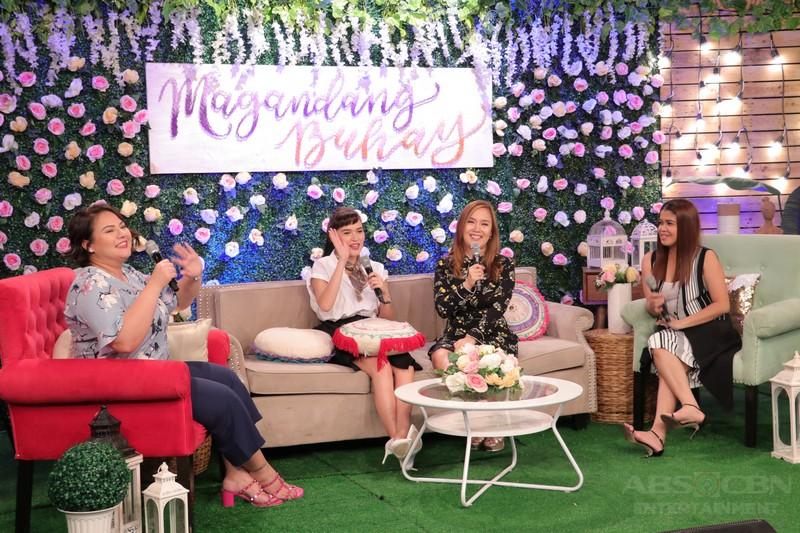 PHOTOS: Magandang Buhay with Lars Pacheco & Bela Padilla