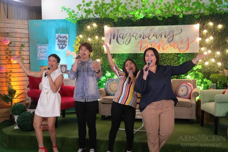 PHOTOS: Magandang Buhay with Alora Sasam & Hashtag CK
