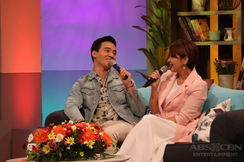 PHOTOS: Magandang Buhay with Erik Santos