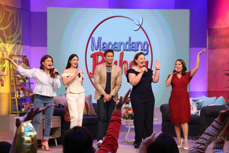 PHOTOS: Magandang Buhay with Sam Milby and Yam Concepcion