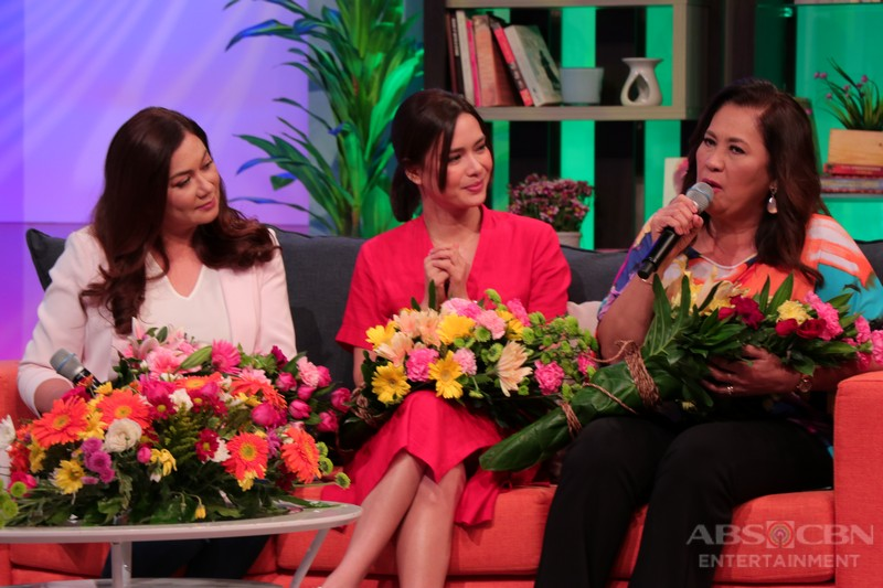 PHOTOS: Magandang Buhay with the ladies of 'The Blood Sisters'
