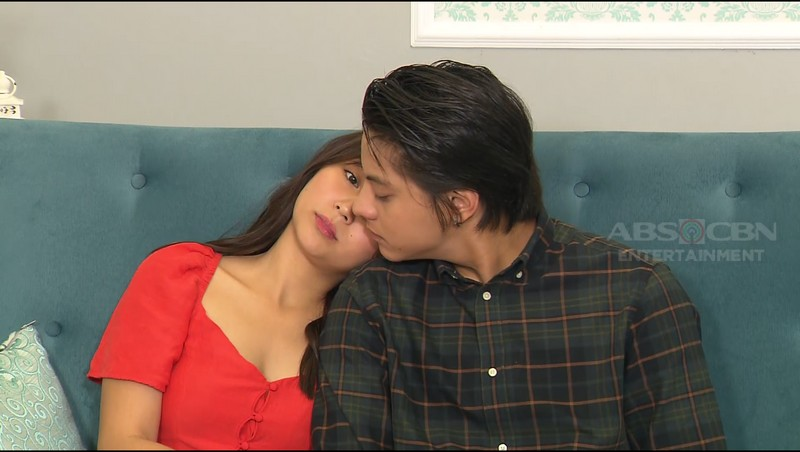 SPOTTED: Sweet Stolen Moments of Kathryn & Daniel