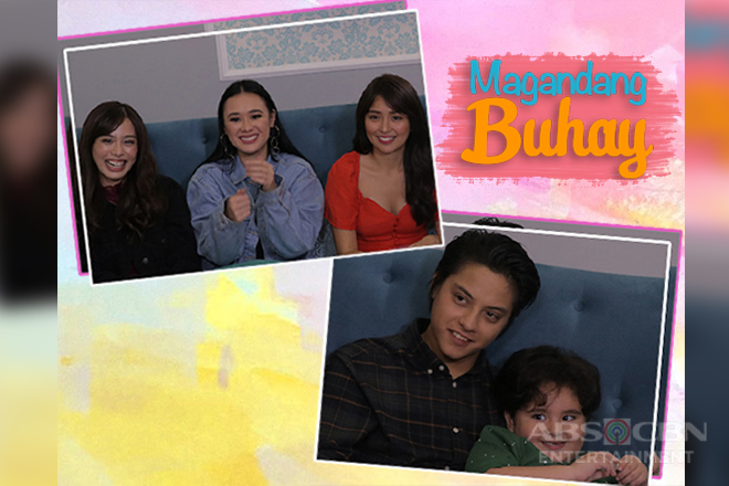 PHOTOS: Kathryn & Daniel with their loved ones on Magandang Buhay