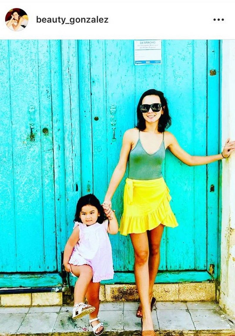 IN PHOTOS: Precious moments of Beauty with her daughter Olivia