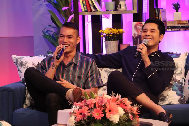 PHOTOS: Magandang Buhay with Paulo Avelino & Darren Espanto
