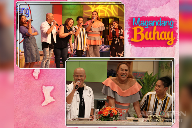 PHOTOS: Magandang Buhay with Wacky, Negi and Lassy