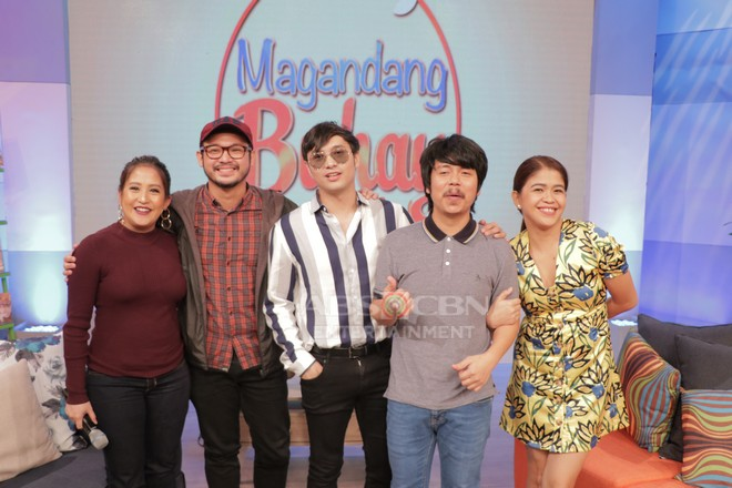 PHOTOS: Magandang Buhay with Pokwang, Sweet, Empoy, Kean & Alwyn