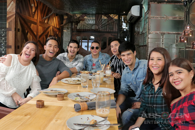 PHOTOS: Magandang Buhay with the Los Bastardos boys