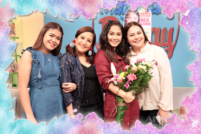 PHOTOS: Maja Salvador's birthday celebration on Magandang Buhay
