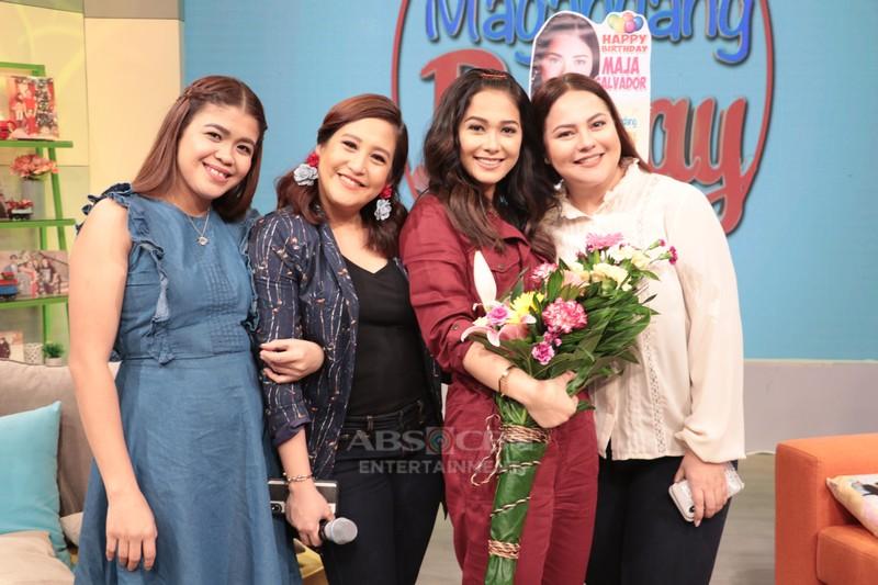 PHOTOS: Maja Salvador's birthday celebration on Magandang Buhay