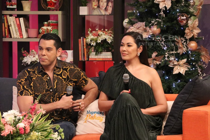 PHOTOS: Magandang Buhay with Albie, Ruffa & Raymond Gutierrez