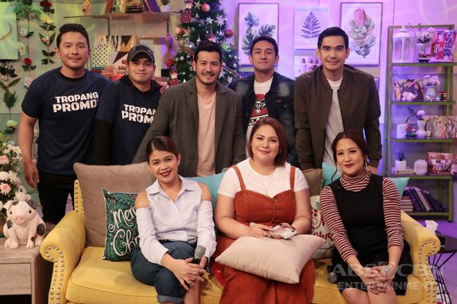 PHOTOS: Magandang Buhay with FPJ's Ang Probinsyano Boys