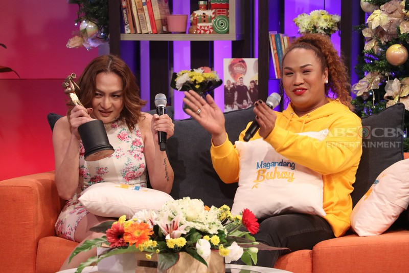 PHOTOS: Magandang Buhay with Jay-R, Mica & Iyah Mina