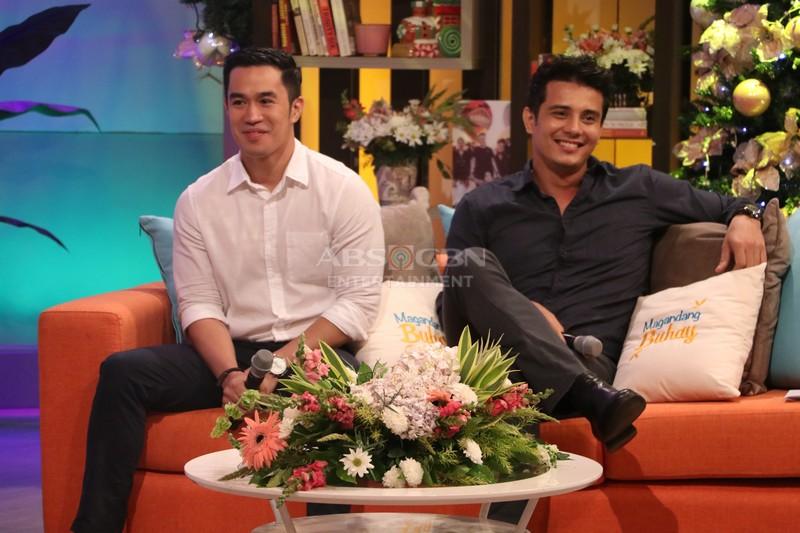 PHOTOS: Magandang Buhay with Direk Paul Soriano & Ejay Falcon
