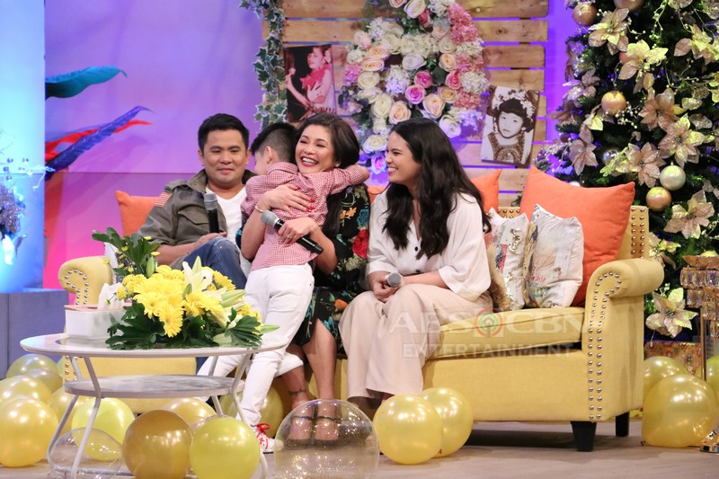 PHOTOS: Regine Velasquez-Alcasid with her happy family on Magandang Buhay