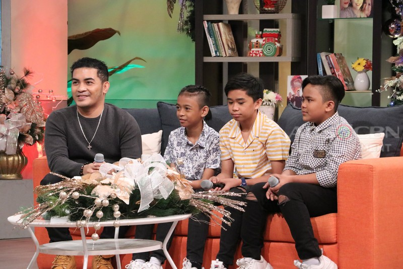 PHOTOS: Magandang Buhay with Ion Perez of It's Showtime & TNT Boys