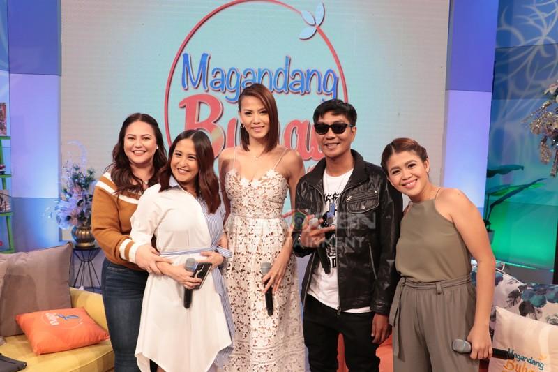 PHOTOS: Magandang Buhay with Catriona Gray & Bianca Manalo