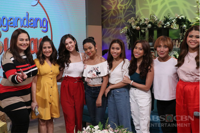 PHOTOS: Magandang Buhay with Barbie Imperial & Chai Fonacier